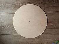 Часы Круг. Заготовка из фанеры 6 мм. Диаметр 30 см, 40 см, 45 см, 50 см 40 см