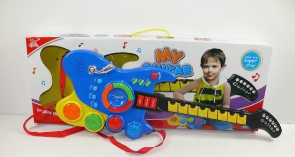 Детская музыкальная гитара 389-18