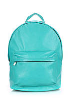 Кожаный рюкзак POOLPARTY Backpack Leather Blue