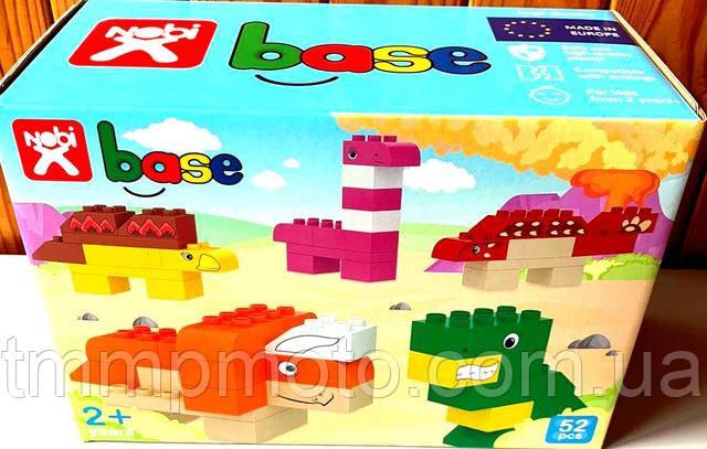 Конструктор-кубики Nobi Dino, 52 детали (Лего Дупло)