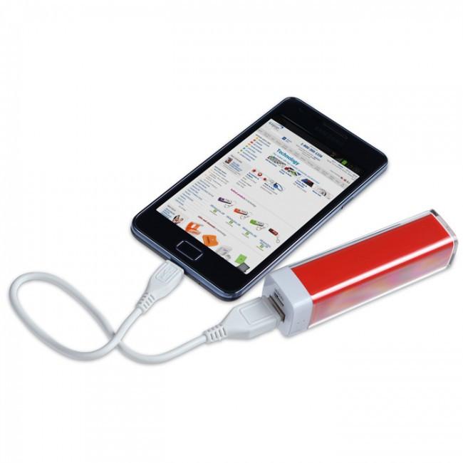 внешний аккумулятор Power Bank 2600 Mah бокс от интернет магазина