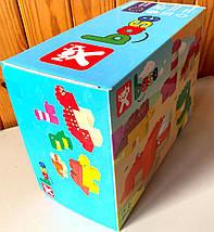 Конструктор-кубики Nobi Dino, 52 детали, фото 2