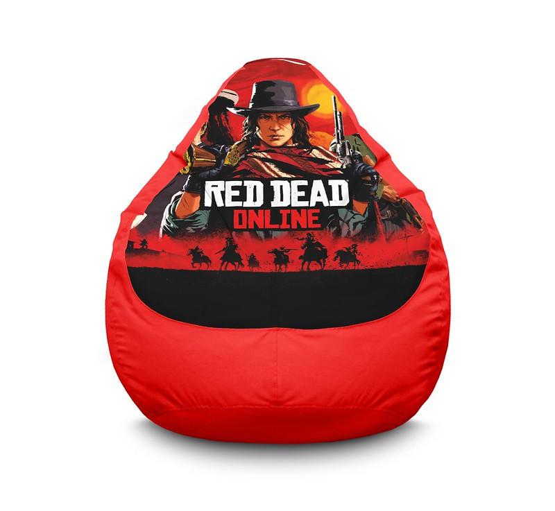 "Кресло мешок ""Red Dead Redemption 2 online"" Оксфорд"
