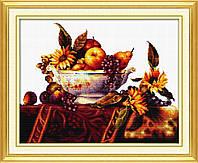 """Набор для вышивания   """"Классический сосуд с фруктами"""""""