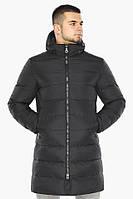"""Куртка мужская зимняя утепленная Braggart """"Aggressive"""" длинная графитовая, температурный режим до -40°C"""