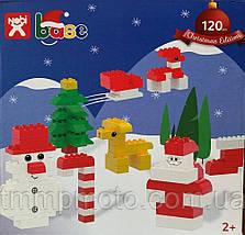 Конструктор-кубики NOBI NEW YEAR  120 деталей, фото 3