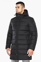 "Куртка мужская зимняя утепленная Braggart ""Aggressive"" длинная черная, температурный режим до -40°C"