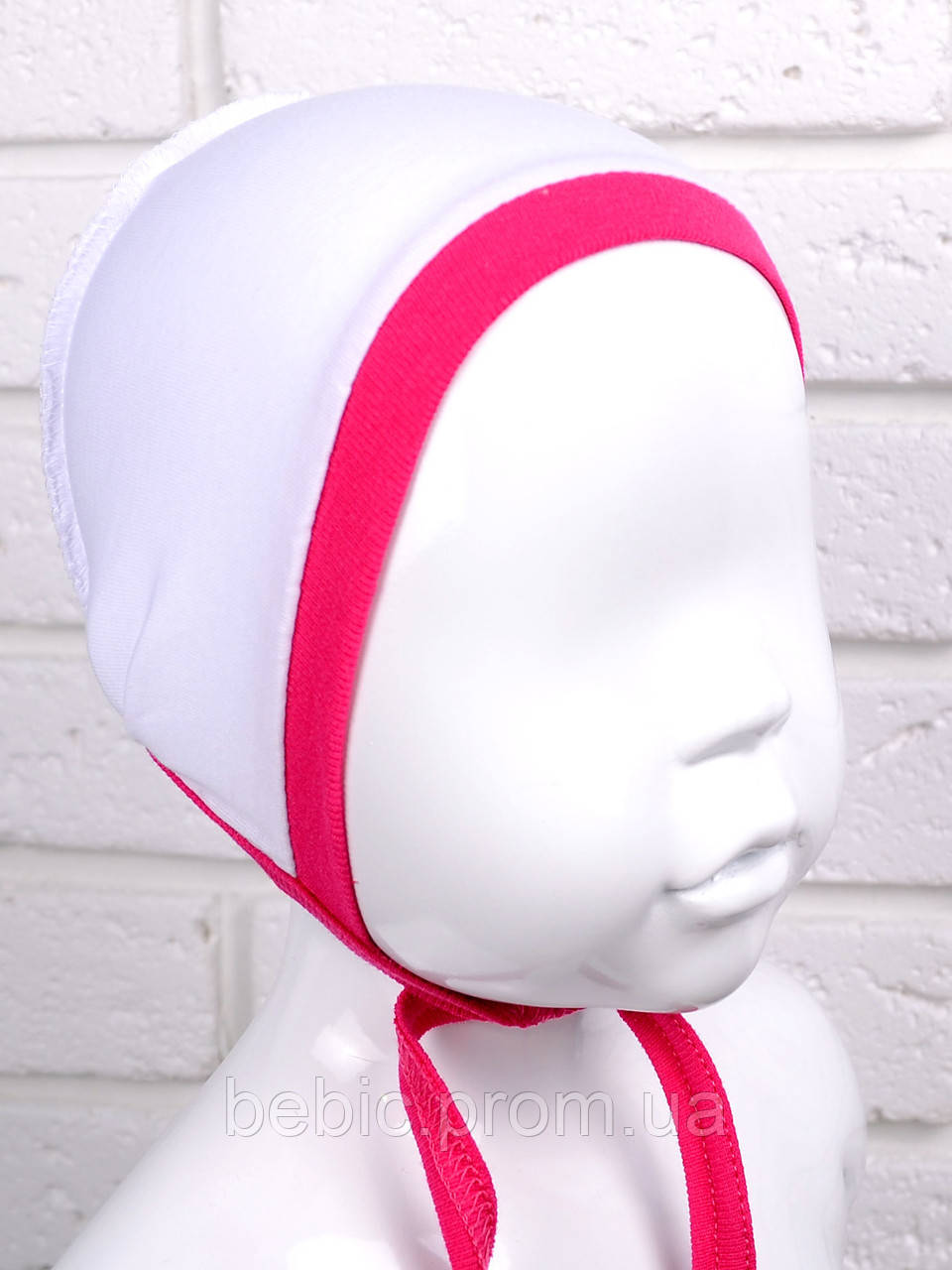 Чепчик для новорожденных кулир (8 цветов ) 100% хлопок  Размер:32 - 42 см