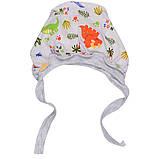 Чепчик для новорожденных кулир (8 цветов ) 100% хлопок  Размер:32 - 42 см, фото 3