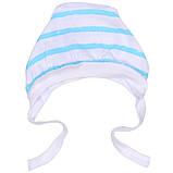 Чепчик для новорожденных кулир (8 цветов ) 100% хлопок  Размер:32 - 42 см, фото 5