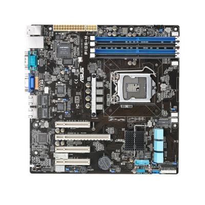 Серверная материнская плата ASUS P10S-M s1151 C236 4xDDR4 VGA COM mATX (P10S-M)