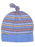 Шапочка Интерлок 100% хлопок 3 цвета Размер: 40-46 см, фото 2