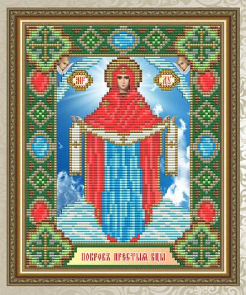 """Набор в алмазной технике """"Образ Пресвятой Богородицы Покрова"""", фото 2"""