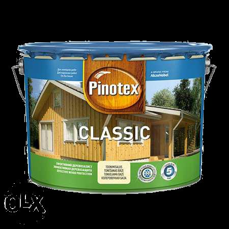 Pinotex Сlassic 10л, тиковое дерево