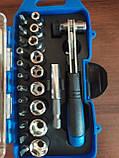 Набор торцевых головок Jinfeng JF90262 с битодержателем, фото 6