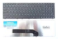 Оригинальная клавиатура для ноутбука Asus K50, K51, K60, K61, K70, F52, P50, X5, rus, black