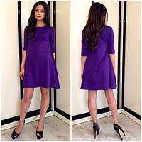 Женское Платье ПОШИВ на заказ Р.40-50 *Разные Цвета*