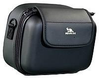 Сумка rivacase 7050 (pu) black 6/24 для фотокамер формата high/ultra zoom