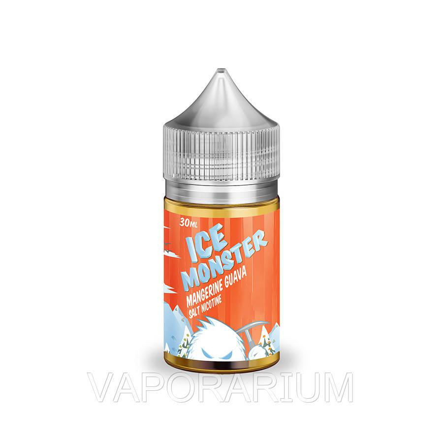 Жидкость для электронных сигарет Jam Monster Salt Mangerine Guava Ice 24 мг 30 мл