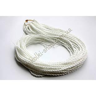 Сенегальские коси коси Zizi зізі білі однотонні, модель A9