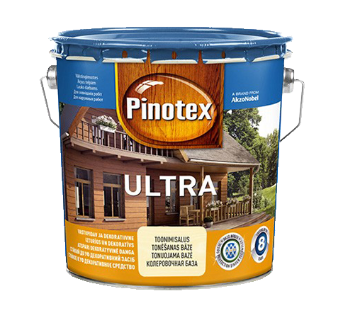 Pinotex ULTRA 3л , белый