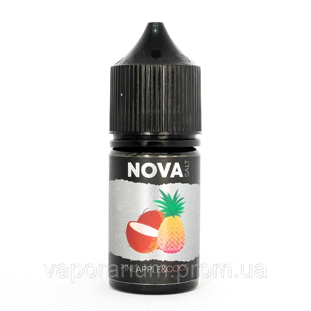 Жидкость для электронных сигарет NOVA Salt Pineapple Coco 50 мг 30 мл