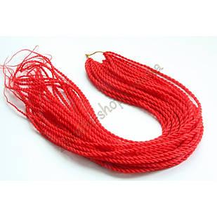 Сенегальские коси коси Zizi зізі червоні однотонні, модель A13