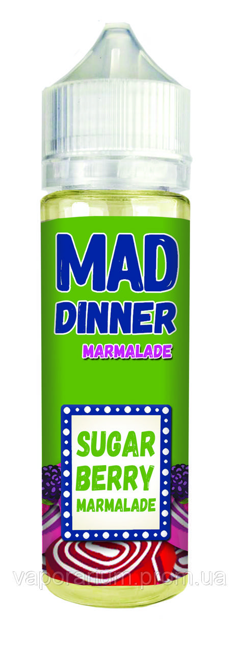 Жидкость для электронных сигарет Mad Dinner Marmalade 0 мг 60 мл