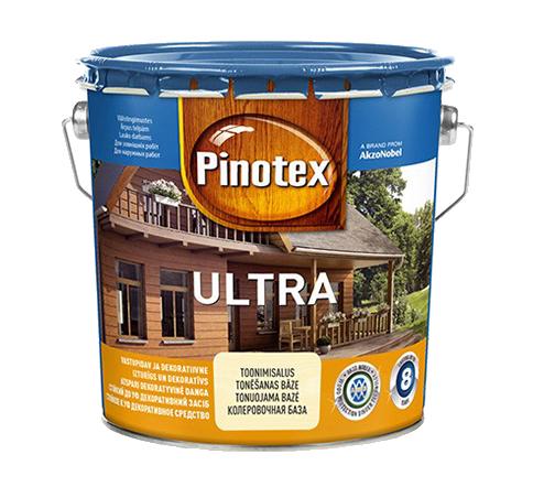 Pinotex ULTRA 3л , черный