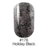 Гель лак Naomi №176 (holiday black), 6ml