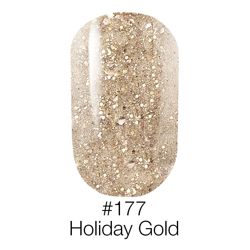 Гель лак Naomi №177 (holiday gold), 6ml