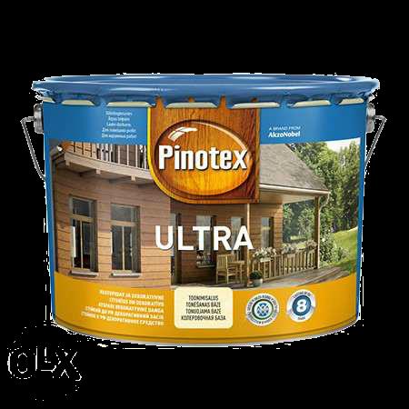 Pinotex ULTRA 10л , красное дерево