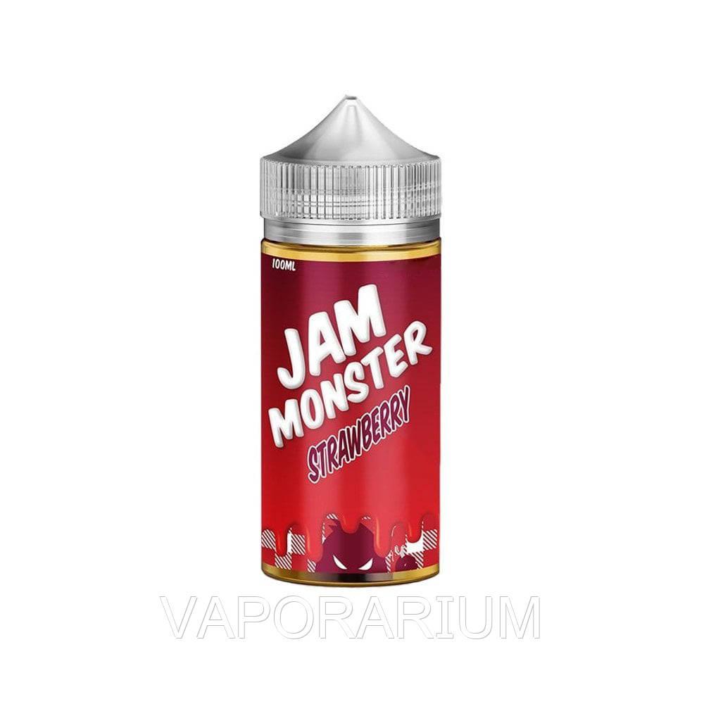 Жидкость для электронных сигарет Jam Monster Strawberry 3 мг 100 мл