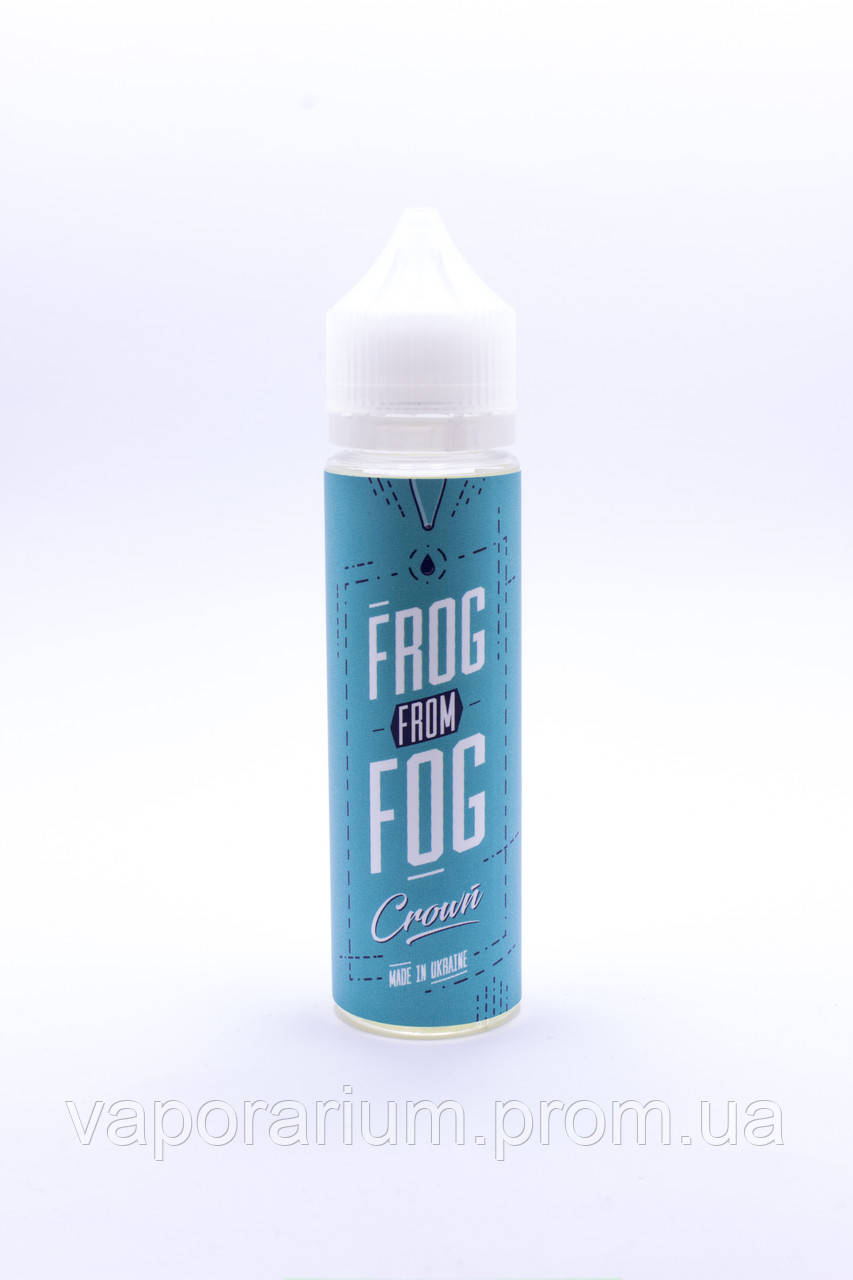 Жидкость для электронных сигарет Frog From Fog Crown 0 мг 60 мл