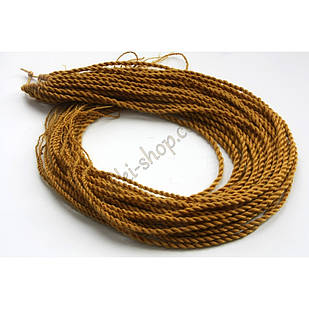 Сенегальские коси коси Zizi зізі яскраво-пшеничні однотонні, модель A21