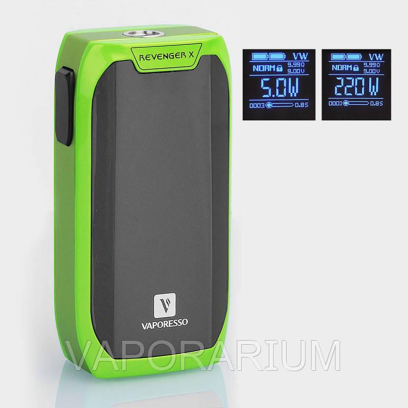 Батарейный мод Vaporesso Revenger X 220W Green