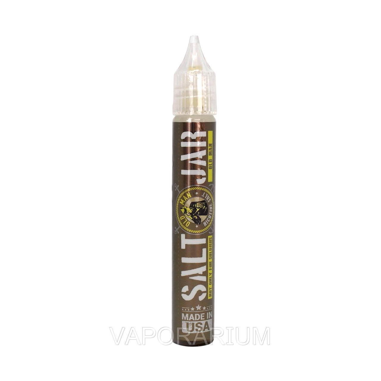 Жидкость для электронных сигарет Salt Jar Old Man 50 мг 15 мл