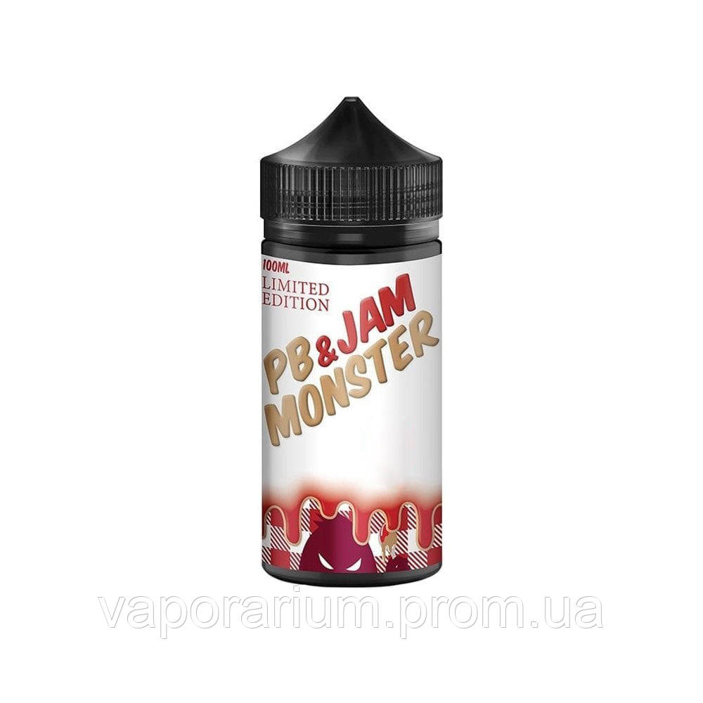 Жидкость для электронных сигарет Jam Monster PB LE Strawberry 3 мг 100 мл