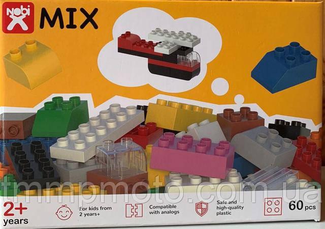 Конструктор-кубики Nobi Mix, 60 деталей