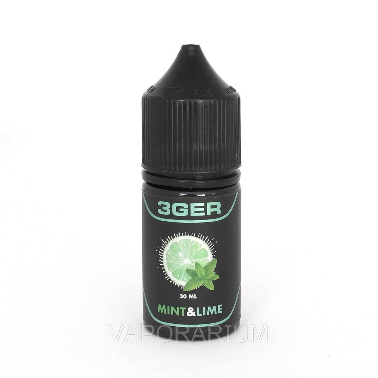 Жидкость для электронных сигарет 3Ger Charlies Mint Lime 1.5 мг 30 мл
