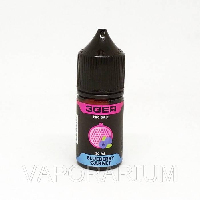 Жидкость для электронных сигарет 3Ger Salt Blueberry Garnet 35 мг 30 мл