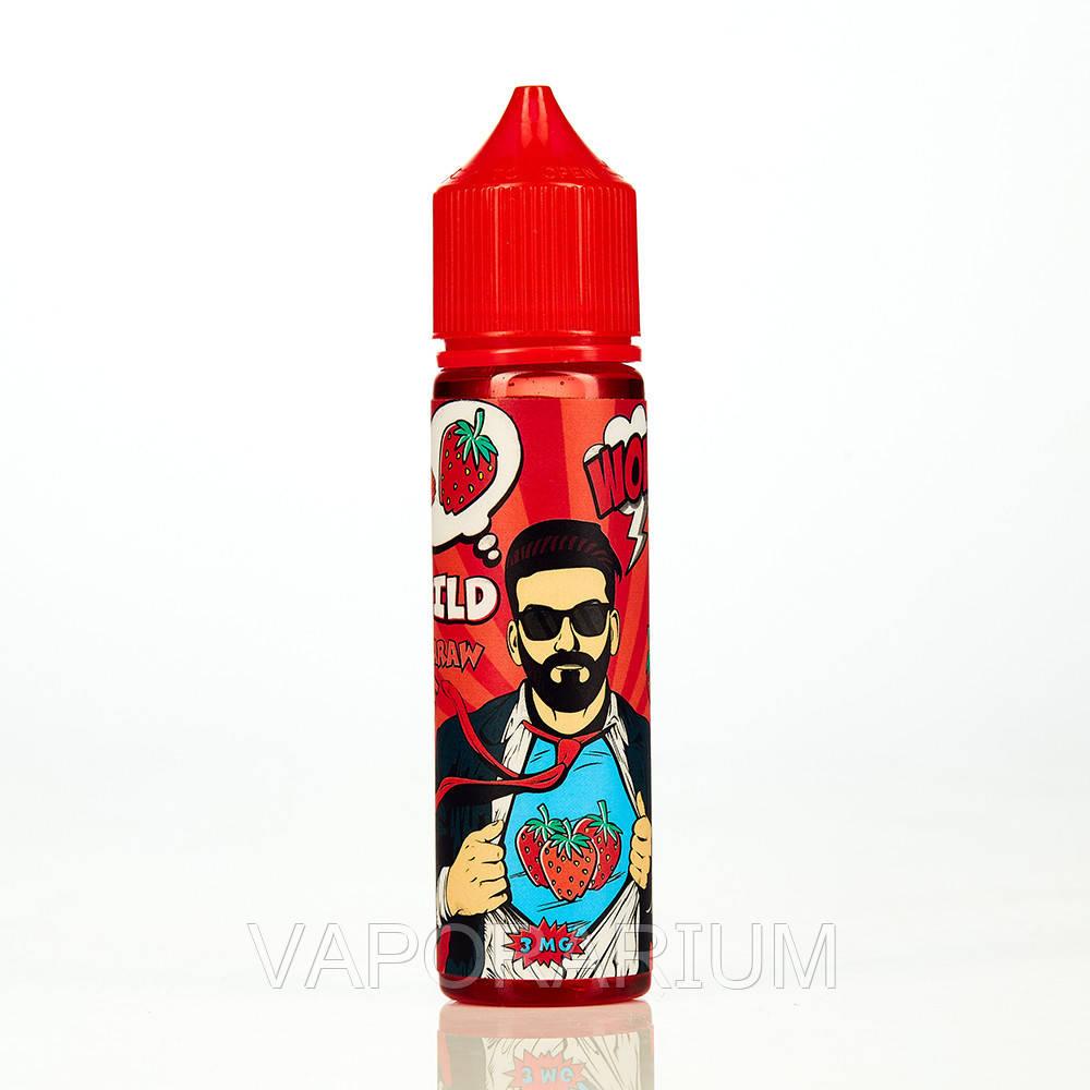 Жидкость для электронных сигарет Black Triangle Wow Wild Strawberry 3 мг 60 мл