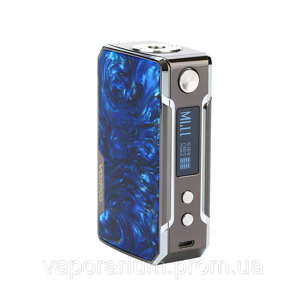 Батарейный мод Voopoo Drag Mini 117W Platinum Prussian Blue
