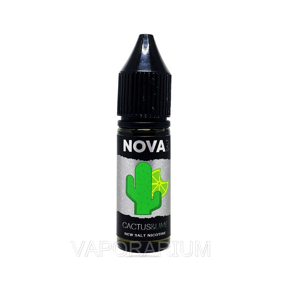 Жидкость для электронных сигарет NOVA Salt Cactus Lime 50 мг 15 мл