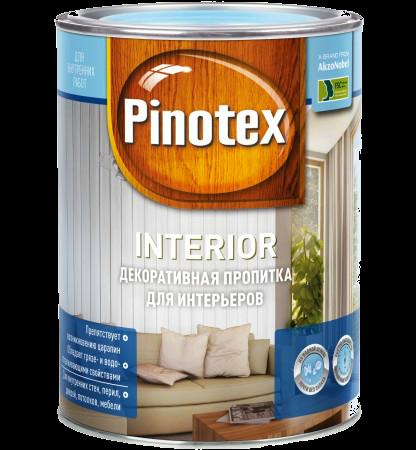 Pinotex Interior 1л, тиковое дерево