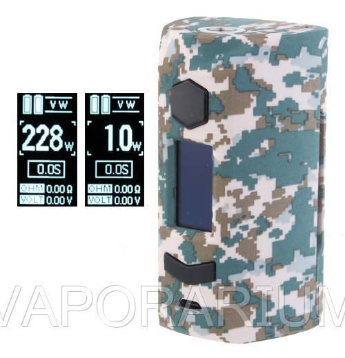 Батарейный мод Rincoe Manto S 228W TC Camo