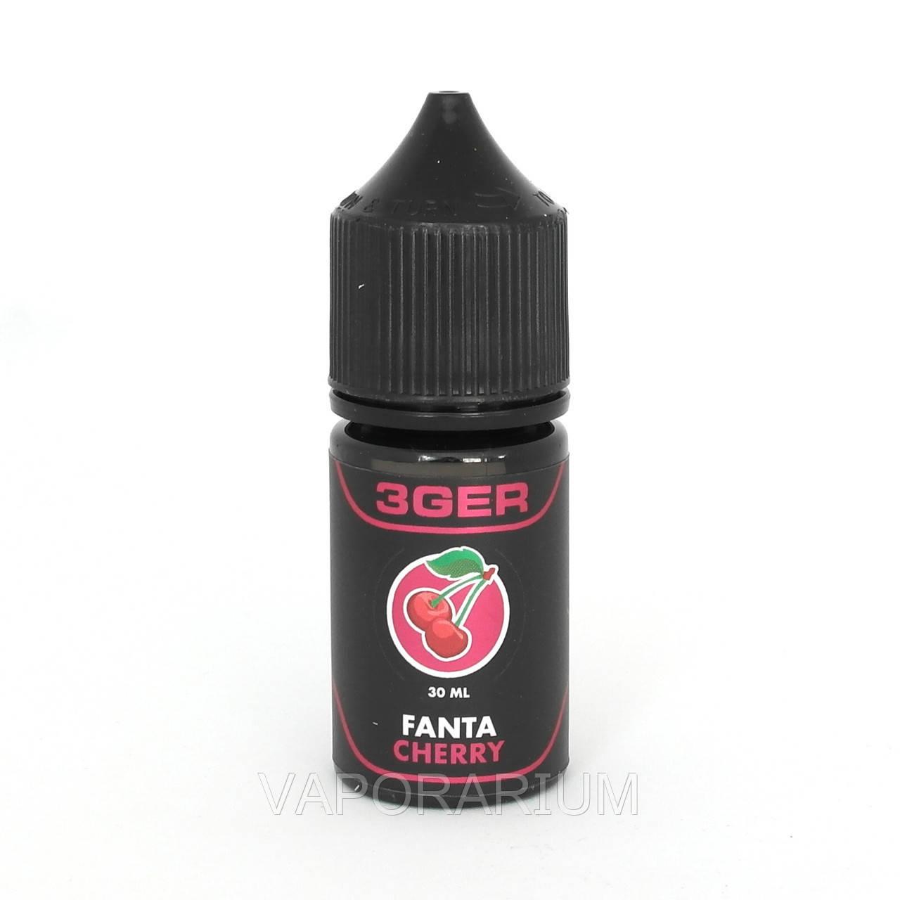 Жидкость для электронных сигарет 3Ger Fanta Cherry 0 мг 30 мл