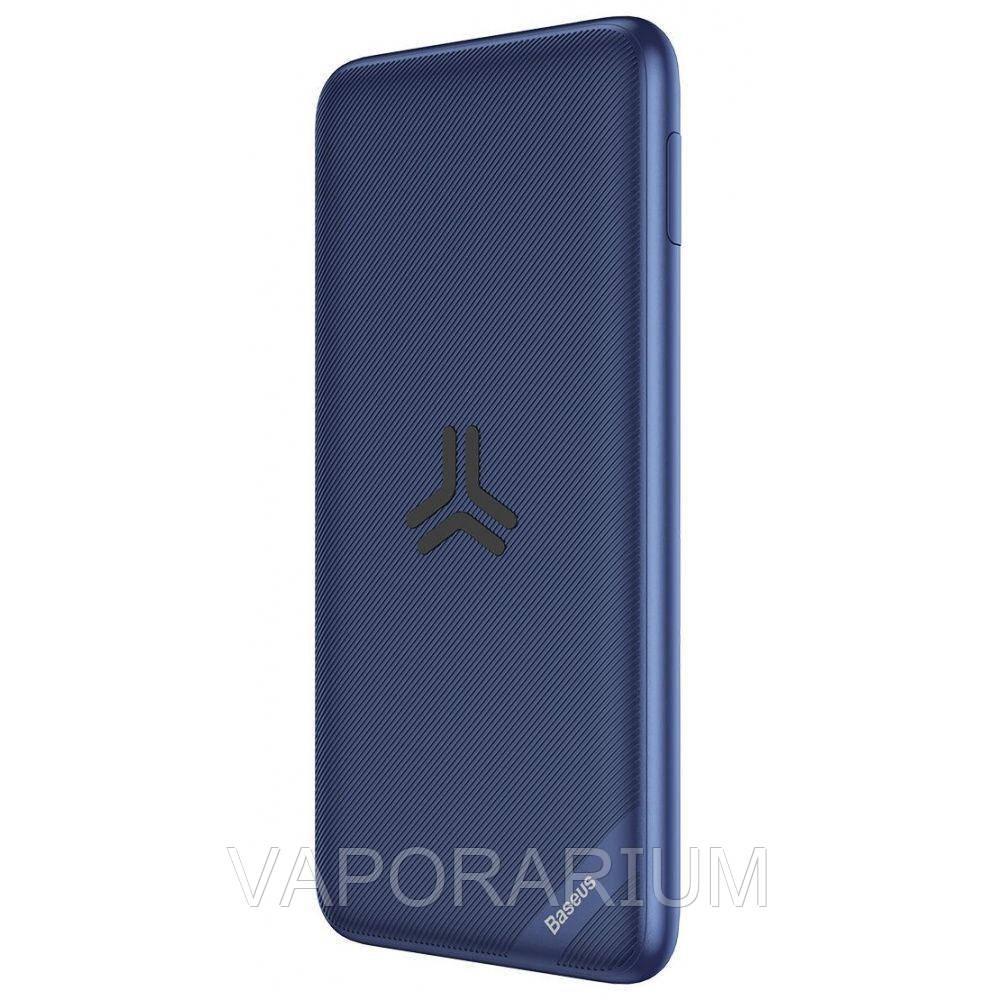 УМБ + беспроводное зарядное Baseus S10 Bracket 10000mAh 18W синий