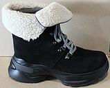 Зимние замшевые женские ботинки от производителя модель ДР1043, фото 2