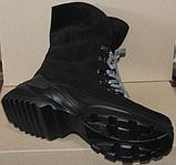 Зимние замшевые женские ботинки от производителя модель ДР1043, фото 7
